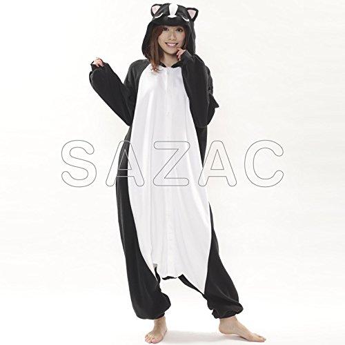 SAZAC Pyjama Kigurumi Le Putois Mignon Importation du Japon