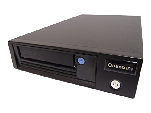 Quantum LTO6 Tape Drive Half Height External 6Gbs SAS Black incl Resource CD Data+Cleaning cartr + SFF8088toSFF8088 Cable
