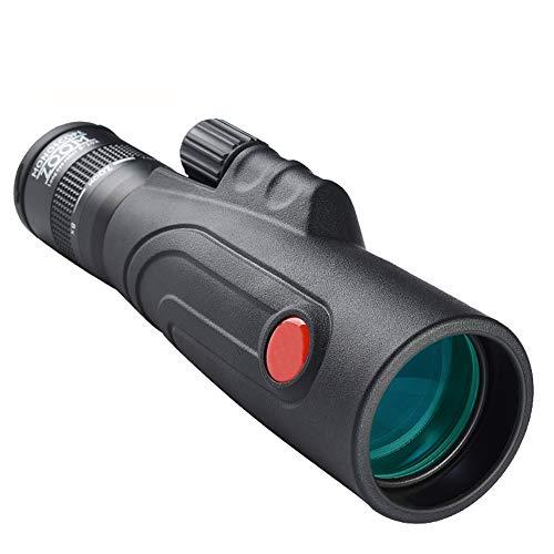 BIGMALL Monocular Monocular Monocular de visión Nocturna, Doble Enfoque Óptica Zoom Portátil Monocular para Observación de Aves al aire libre Observación Deportiva