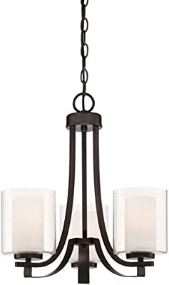 Minka Lavery 4103-172 Parsons Studio 3-Light Mini Chandelier in Smoked Iron