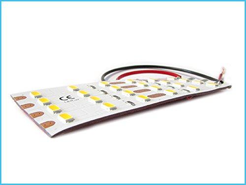 LED-plafondlamp, flexibel, 24 V, 8 W, warm wit, 10 cm, voor hanglampen, kast, vrachtwagen, boot