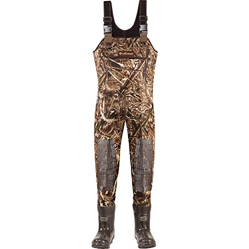 Lacrosse Waders Super Brush Tuff Realtree Max-5 1200G (700152) | Waterproof | Insulated Modern Comfortable Hunting Combat Boot Best for Mud, Snow (Stout = 8)