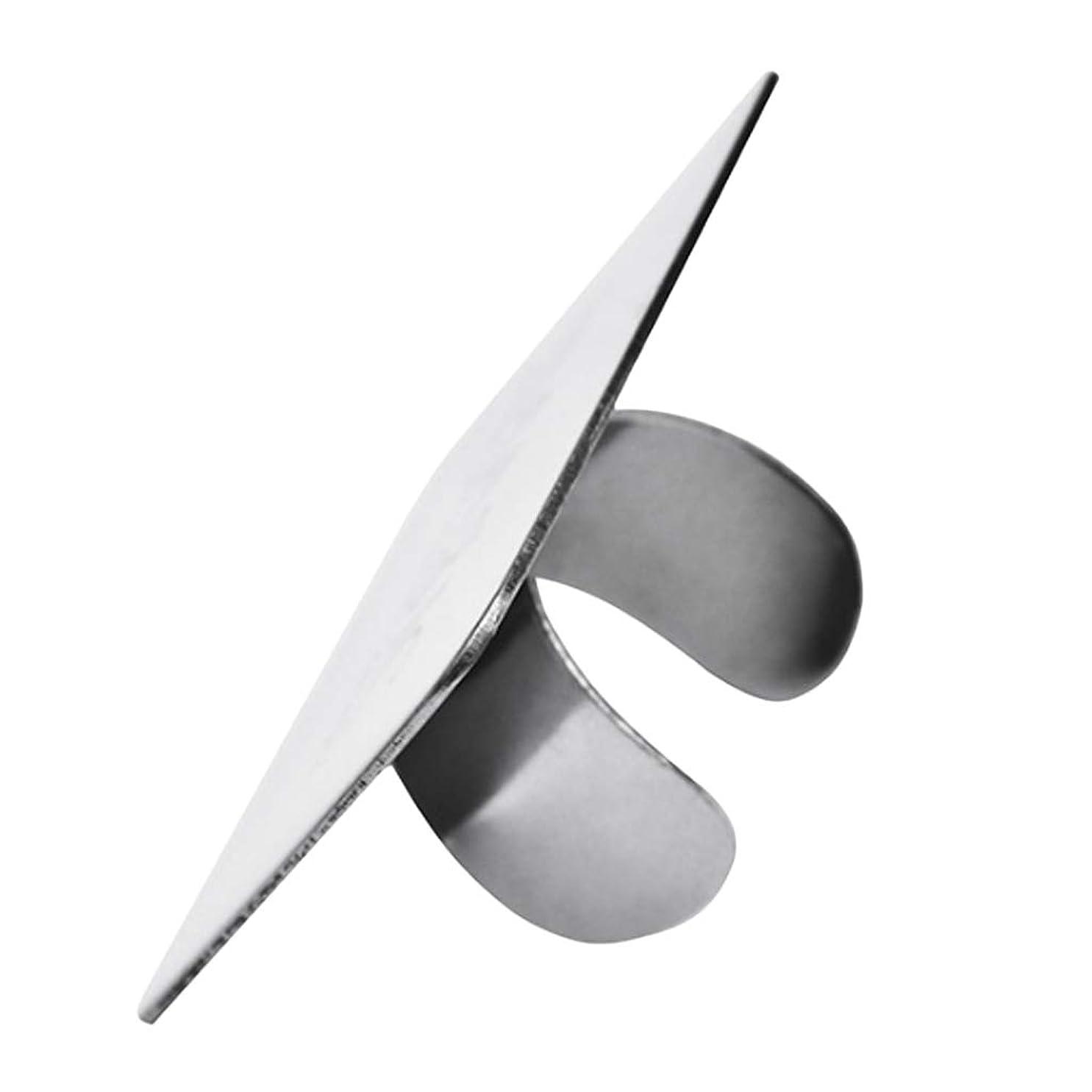 遅い礼拝意欲Perfeclan メイクミキシングパレット ステンレス鋼 ネイルアート メイクアップ