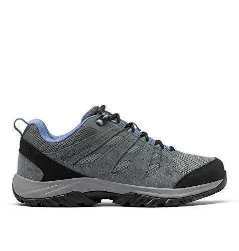 Columbia Redmond III, Zapatillas para Caminar Mujer, Ti-Cala de Terciopelo de Acero Gris, 39 EU