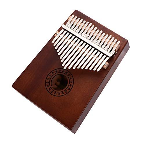 EXCEART 1 Satz Kalimba 17 Tasten Daumen Klavier Mbira Kalimbas Tragbare Finger Klavier Anfänger Professionelles Musikinstrument