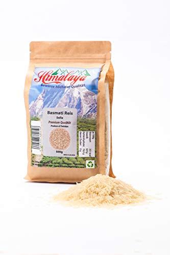 'reis basmati 1121 Sella basmati parboiled 5 x 500g Gewürze Höchster Qualität Premium Qualität aus Indien Ursprung Himalaya Gebirge Indien Naturware