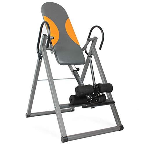 inChengGouFouX Ajuste Flexible La Gravedad Entrenador Plegable Tabla de inversión Gravedad-Trainer/Heavy-Duty Trainer Reduce el Dolor de Espalda Máquina Invertida para Fitness