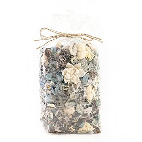 Potpourri Bag Home Décor | Floral Petals Vase & Bowl Filler Decoration (Blue)