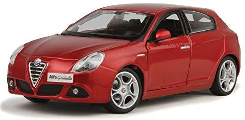 Bburago BBURAGO-1/24 Alfa Romeo 18-22128R, Color Rojo (1)