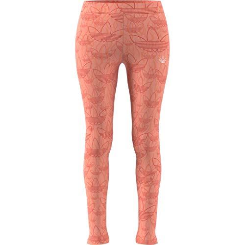 adidas Originals Women's 3 Stripes Legging, ecru tint/black, X-Small
