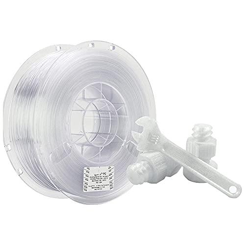 PC Lite Filamento 1.75mm, filamento de impresora 3D, buenas propiedades mecánicas, transmisión de luz y resistencia al calor, 1kg de carrete-2.85mm