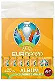 Euro 2020-Album + Sobres, Color Calabaza (Panini España 7)