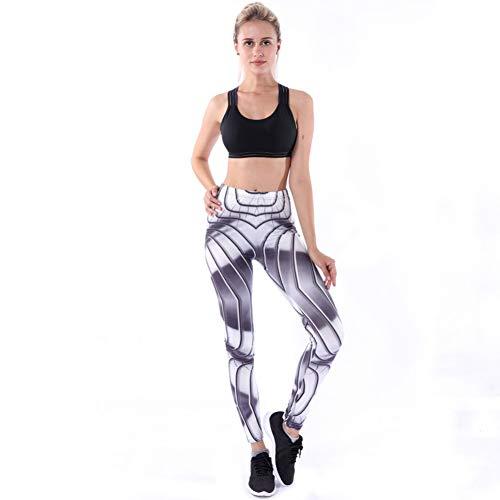 YUJIAKU Yoga broek/strak/Koop Sport Leggings Yoga Broek Polyester Elastische Taille Vrouwen Hoge Taille Gedrukt Sport Gym Yoga Hardlopen Fitness Broek