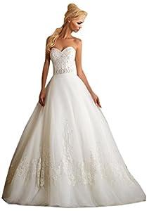 Zhuolan White Alencon Lace On Tulle Wedding Dress Buy Hot Shop