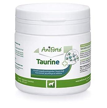 AniForte Taurine pour Chiens 100g - Acide aminé Essentiel, Soutien du métabolisme cellulaire, Maintien de la Fonction Cardiaque et du système cardiovasculaire, complément Alimentaire précieux