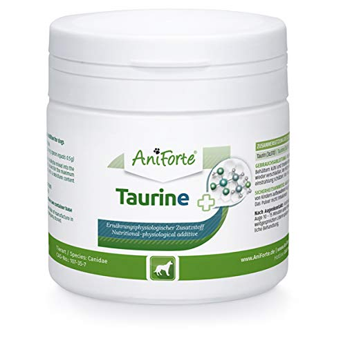 AniForte Taurine for Dogs 100g - Amino Acid Pet Supplement to Help Muscle Tremors & Nerve Function