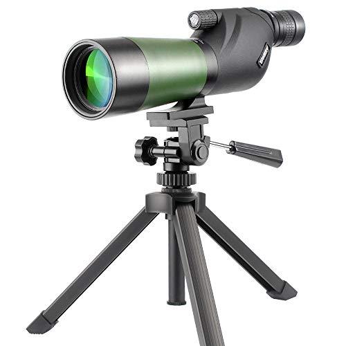 Gosky 20-60X60 Waterproof Spotting Scope- Porro Prism Spotting Scope for Bird...