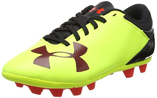 Under Armour Kids Boys' Spotlight Firm Ground Jr, High-Vis...