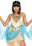 Leg Avenue Womens 3 Pc Sexy Gold Cleopatra Costume, Small/Medium