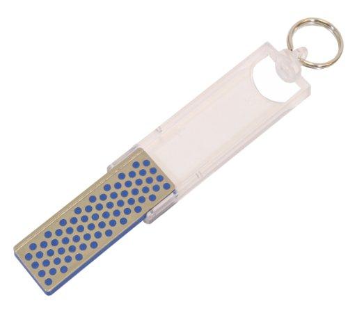 DMT Angler Mini-Sharp Diamantschärfer auch für Angelhaken, grob, 70 mm, FF70C