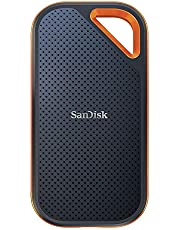Sandisk Extreme Pro, SDSSDE80-500G-G25, 500GB Taşınabilir Harici Disk Siyah,Turuncu