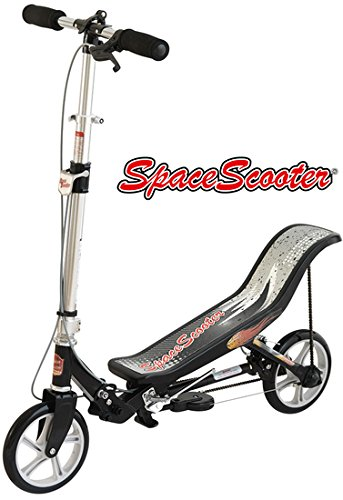 East Side Records GmbH Space Scooter X580 schwarz MIT Gravur (z.B. Name)