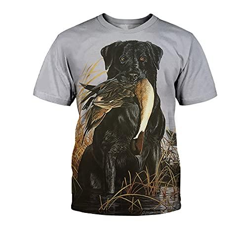 Shirt Hombres Transpirable Verano Cuello Redondo Creativo 3D Animal Print Hombres T-Shirt Shirt Ocio Manga Corta Hip Hop Estilo Tendencia Cool Hombres Streetwear TX-2683 5XL