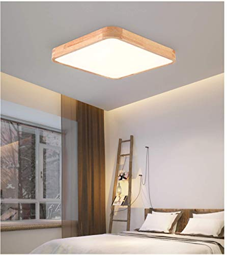 Led Lámpara De Techo Dormitorio Corredor,Plafon De Techo Salon,Luz De Protección Ocular...