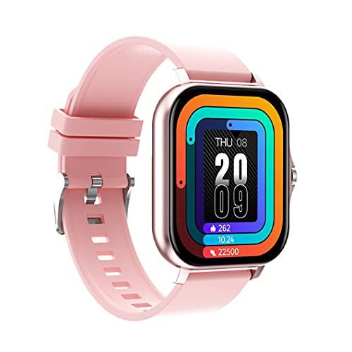 Kongqiabona-UK Reloj Inteligente Y13 Reloj de Llamada inalámbrico para Hombres y Mujeres Ritmo cardíaco Fitness Relojes Deportivos Rastreador de Actividad