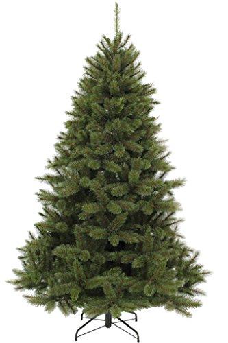Triumph Tree Bristlecone FIR künstlicher Weihnachtsbaum, PVC/Hardneedle, Gruen, h185xd119cm