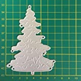 Christmas Set Metal Cutting Dies Tree Leaves Pine Stencil Xmas Gift DIY...