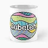 Bubeleh Design - La migliore tazza da caffè in ceramica di marmo bianco da 11 onz!