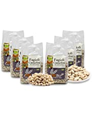 Carioni Food & Health Alubias Blancas Bio - 400 gr (Paquete de 6 Piezas)