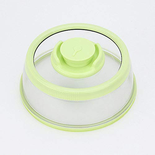 Máquina de sellado de alimentos Contenedor Microondas Tapa de sellado de alimentos Cubierta de vacío Máquina de sellado de alimentos Tapa de caja de mantenimiento fresco Cocina-verde_en_