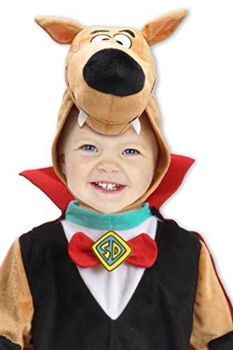 Ciao-Scooby-Doo Halloween Special Edition Costume Bambino Originale (Taglia 2-3 Anni), Colore Marrone, Rosso, Nero, 11723.2-3