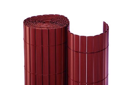 NOOR Sichtschutzmatte PVC 2,00 x 3,00 m ROT NEUHEIT!
