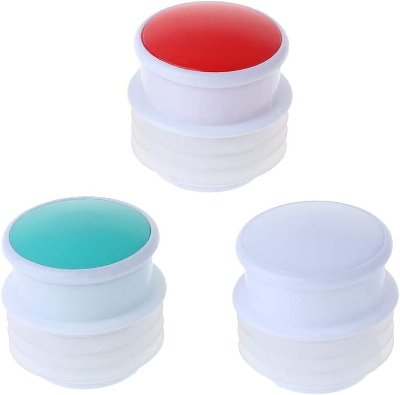XISAOK Food Grade Silicone Thermos Plug Cap Stopper Bottle Lid Replacement Kettle Parts 4.5cmx4cm