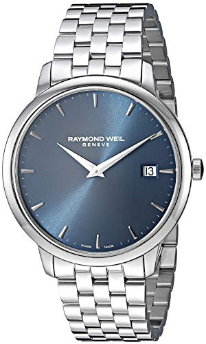 Raymond Weil Men's 5588-ST-50001 Toccata Analog Display Quartz Silver Watch