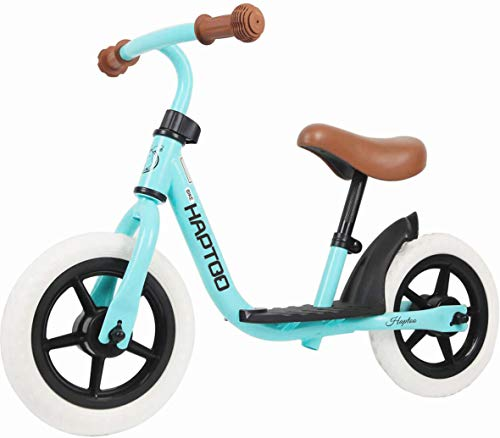 HAPTOO 10 in Sport Balance Bike, First Bikes Ages 18 Months to 6 Years¡