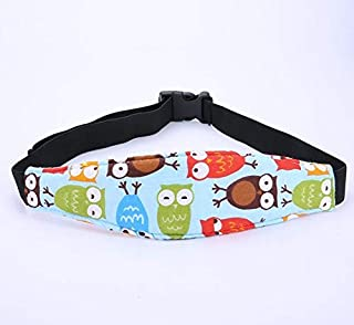 Toddler Car Seat Infants and Baby Heavad Support, Car Seat Neck Relief Head Strap, Safety Stroller Adjustable Head Holder ...