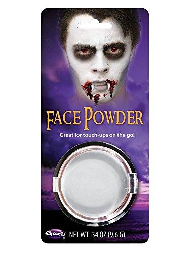 shoperama Kompaktpuder Schminke Make-up Halloween Karneval Fasching Vampir Werwolf Zombie Totenkopf...