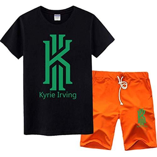 LLSDLS Camiseta NBA Jersey Set Boston Celtics Kyrie Irving Baloncesto Deportes Hombres...
