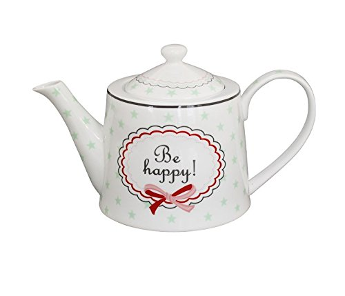 Krasilnikoff Teapot, Be Happy [A]