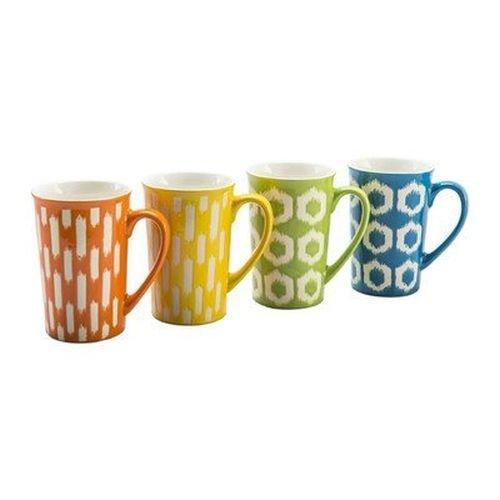 4 Piece 16 oz. Ikat Mug Set [Set of 4] by BIA Cordon Bleu