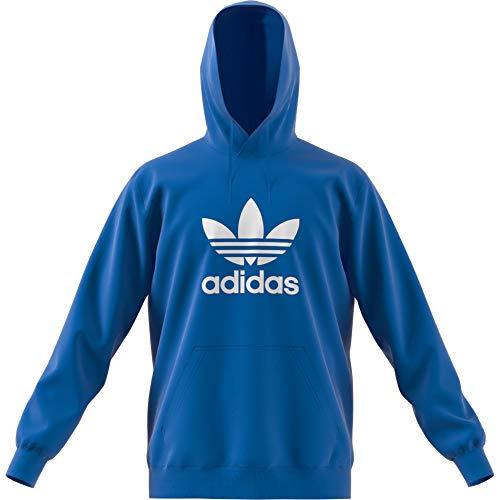 adidas Herren Trefoil Hoody Sportkapuzenpullover, Blau (Bluebird Bluebird), Large