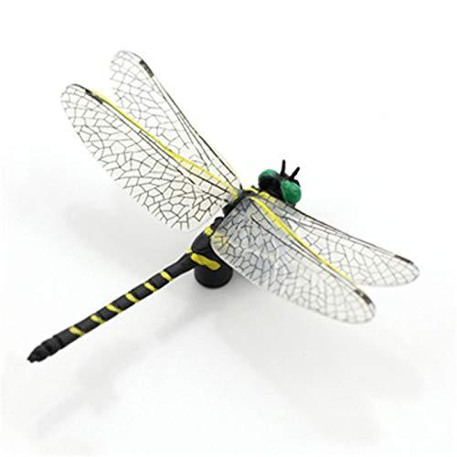【予約発売】Eden Toys 昆虫 動物 フィギュア 模型 リアル 虫除け 誕生日 プレゼント 贈り物 おもちゃ 家 インテリア 塗装済 完成品 (オニヤンマ)