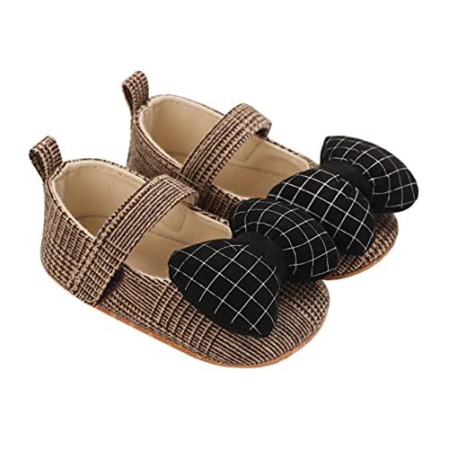 Bebé Niñas Zapatos Princesa Suela Blanda Antideslizante Zapatos Vestido de Novia Primeros...