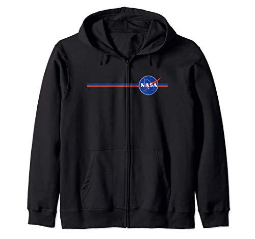 Estrellas y rayas de la NASA Sudadera con Capucha