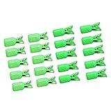 freneci 20Pcs Calamares Jig Hook Protector Pesca Jigs Señuelo