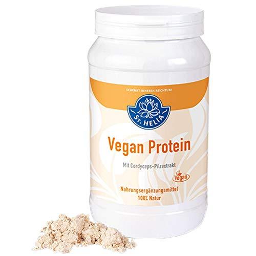 Vegan Protein - pflanzliches Eiweiß-Shake, vegan, Nahrungsergänzung, 100 % Natur, Dose à 560 g